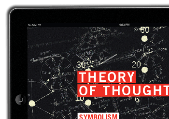 Theory of Thought iPad iBook