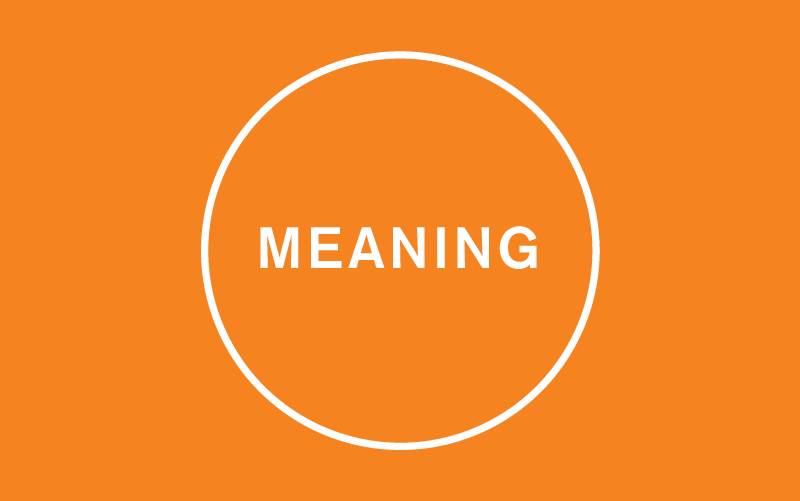 Circle Thought Meaning